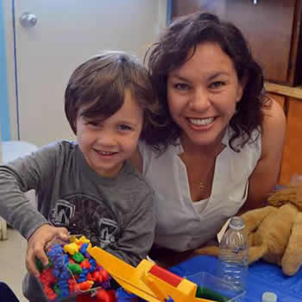 Caring teachers at Joyful Noises Christian Preschool in huntington beach